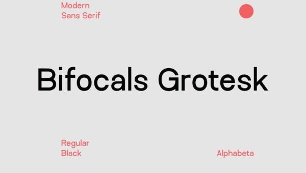 Bifocals Grotesk Font Family + Bonus
