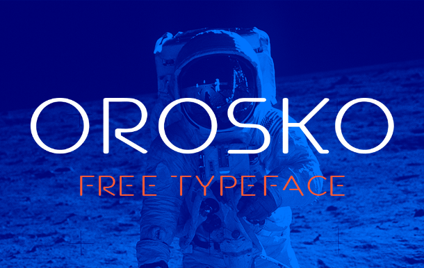 Orosko Display Font