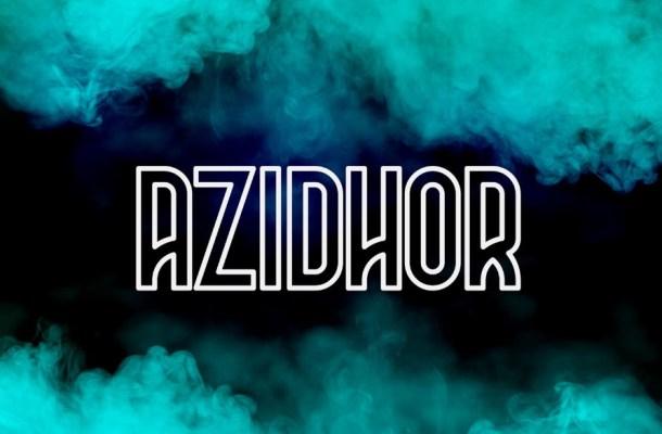 Azidhor Display Font