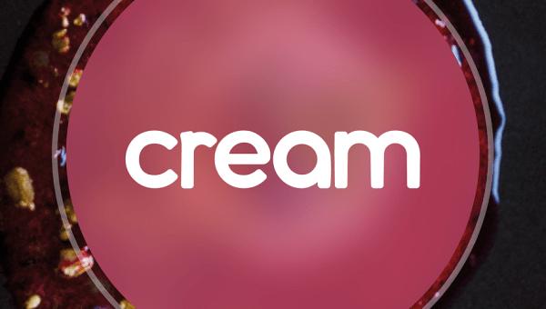 Cream Display Font