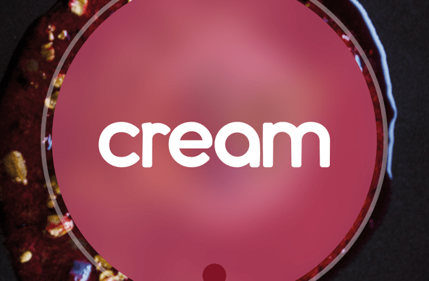 Cream Display Font