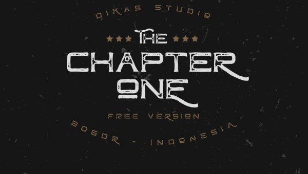Chapter One Typeface