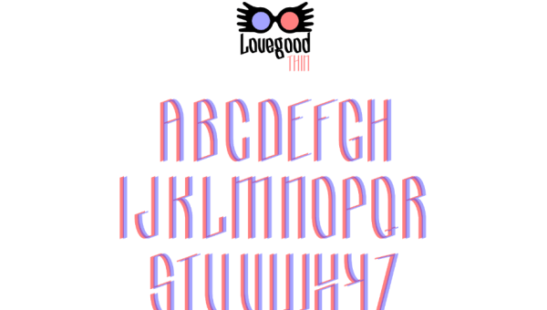 Lovegood Display Font