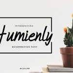 Humienly Script Font