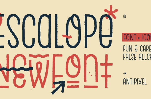 Escalope Typeface Family