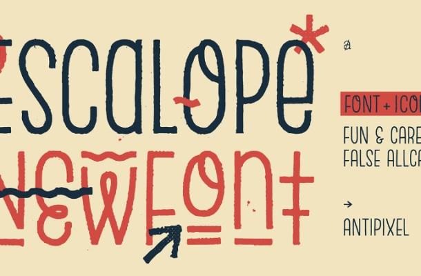 Escalope Typeface Family