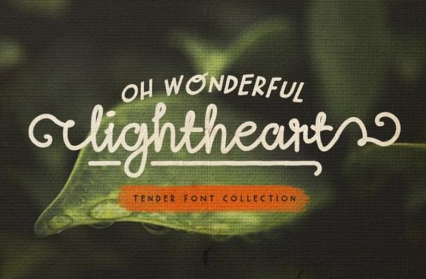 Lightheart Script Free Font