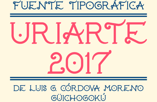 Uriarte Display Font