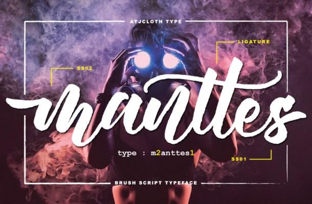 Mantes Script Free Font