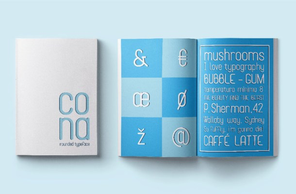Cona Display Typeface