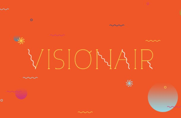 Visionair Display Font