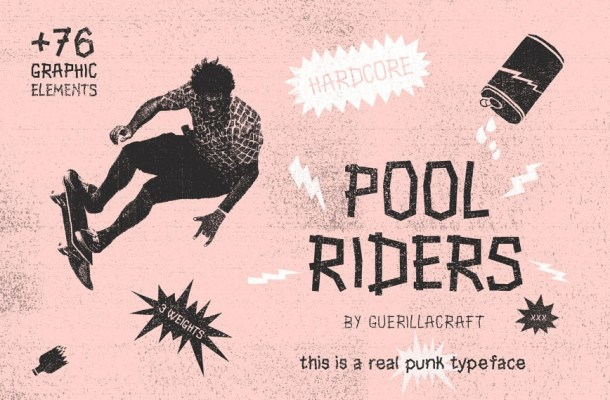 Pool Ride Font