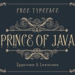 Prince of Java Font