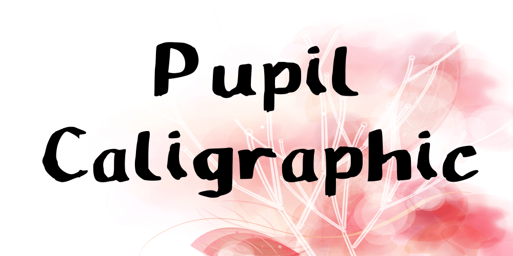 Pupil-Caligraphic