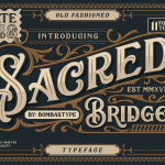 Sacred Bridge Font