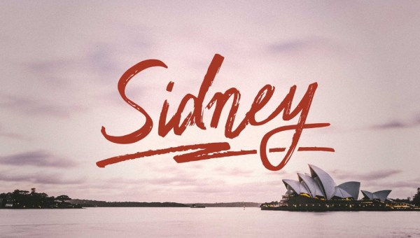 Sidney Handwriting Free Font