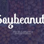 Soybeanut Script Free Font
