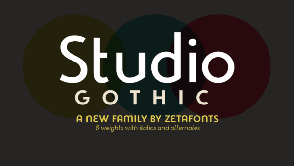 Studio Gothic Font Family