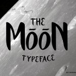 The Moon Free Font