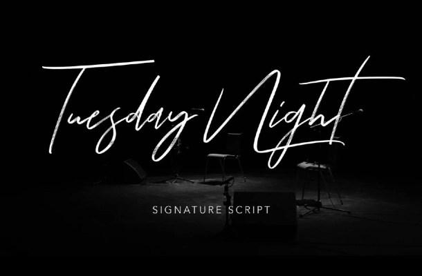 Tuesday Night Signature Script