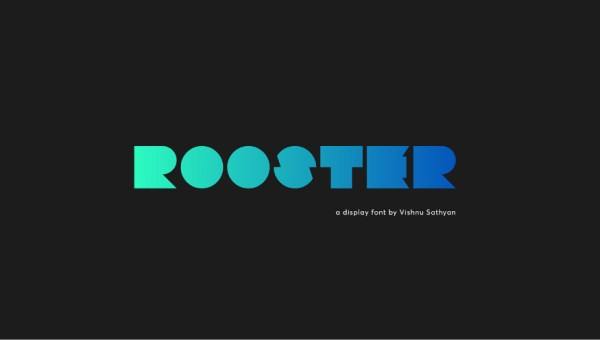 Rooster Display Font