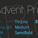 Advent Pro Font Family