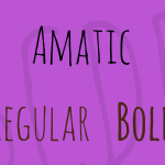 Amatic Font Family