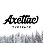 Axettac Script Font
