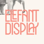 ELEFANT Display Font