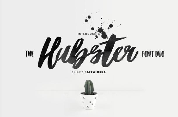Hubster Script Free Font