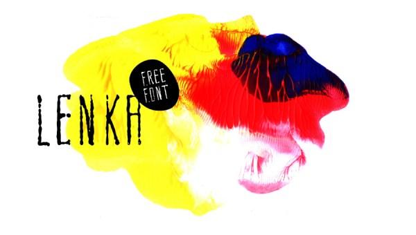Lenka Brush Free Font