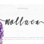 Molluca Script Free Font