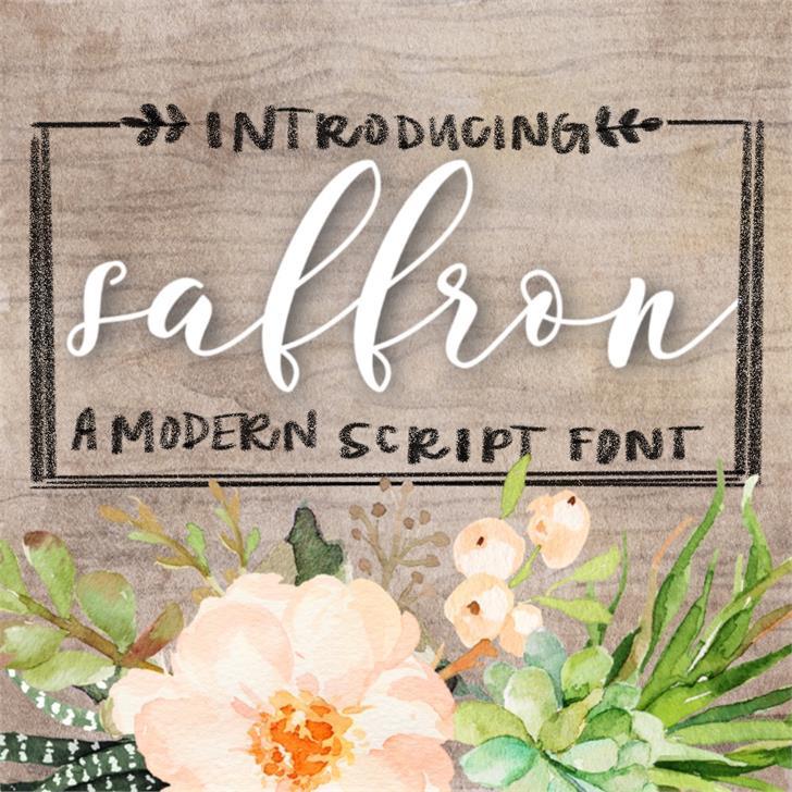 saffron-font
