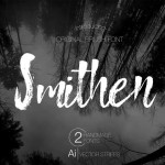 Smithen Brush Font
