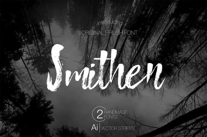 smithen-brush-font