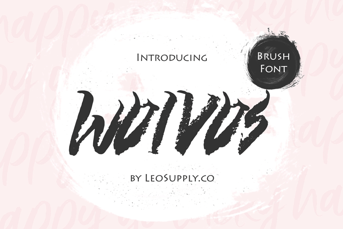 wolvos-brush-font