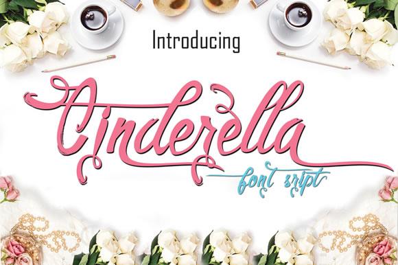 Cinderella-Font