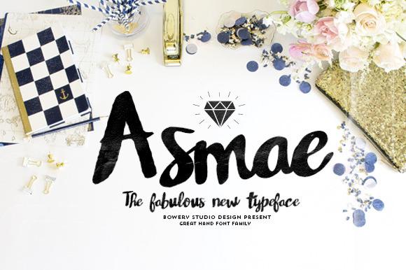 asmae-handwritten-font