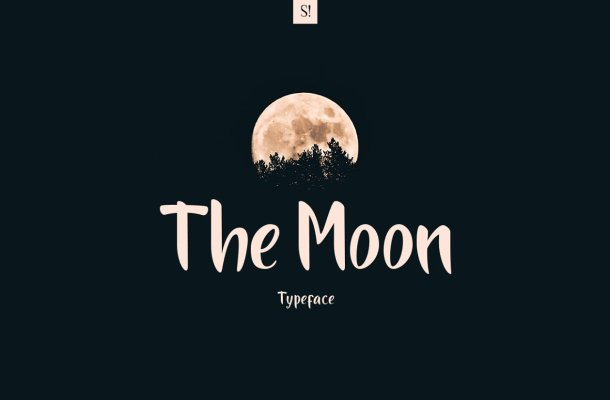 The Moon Font