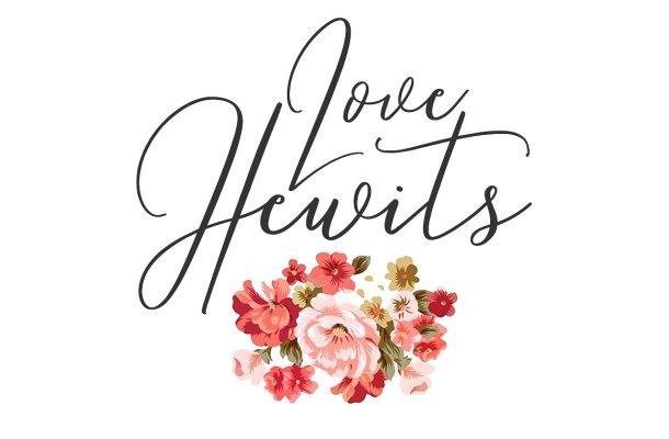 Love Hewits Script Font