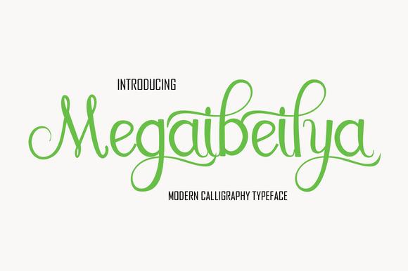 megaibeilya-script-font1