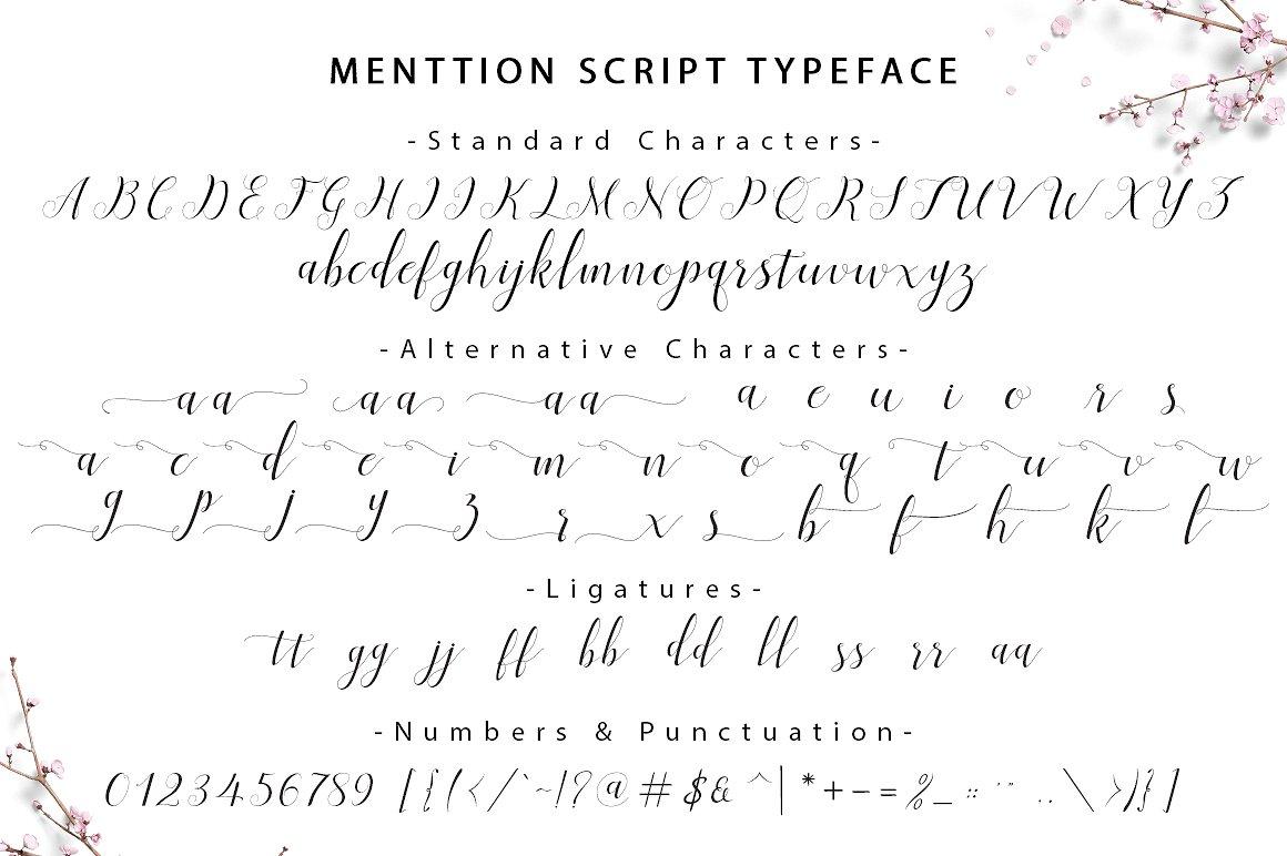 menttion-script-font-4