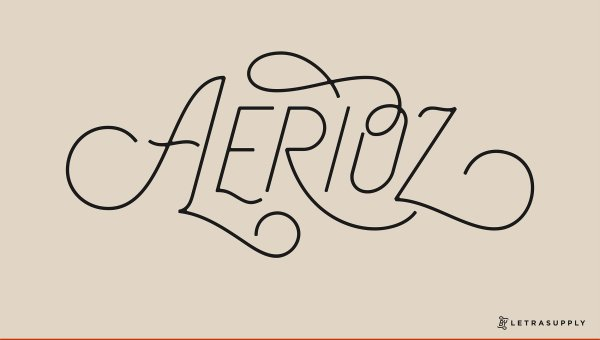 Aerioz Typeface