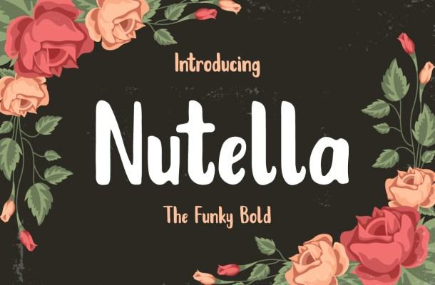 Nutella Font