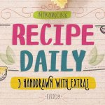 Recipe Daily Typeface