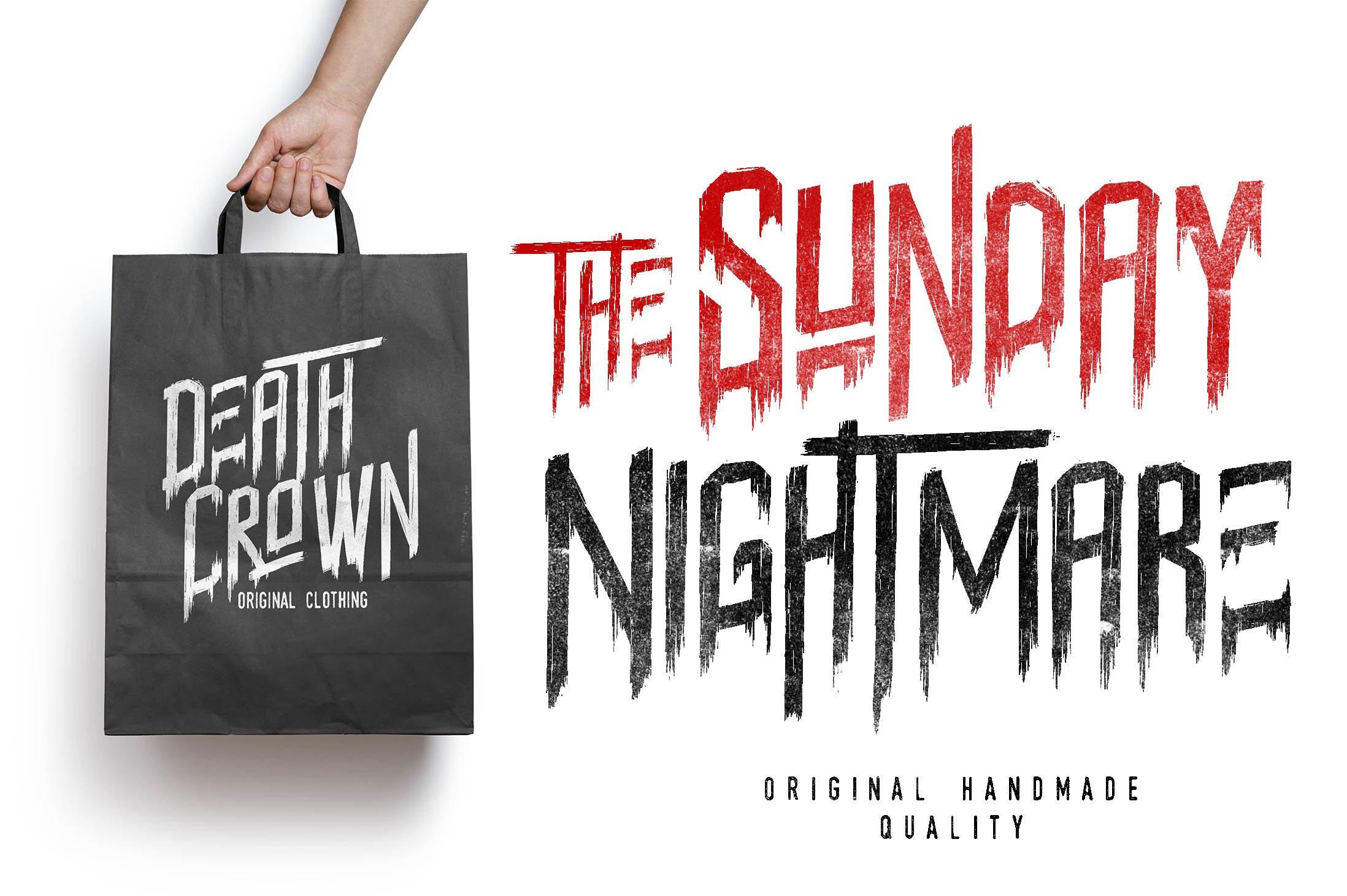 Sunday-Nightmare-Font-2