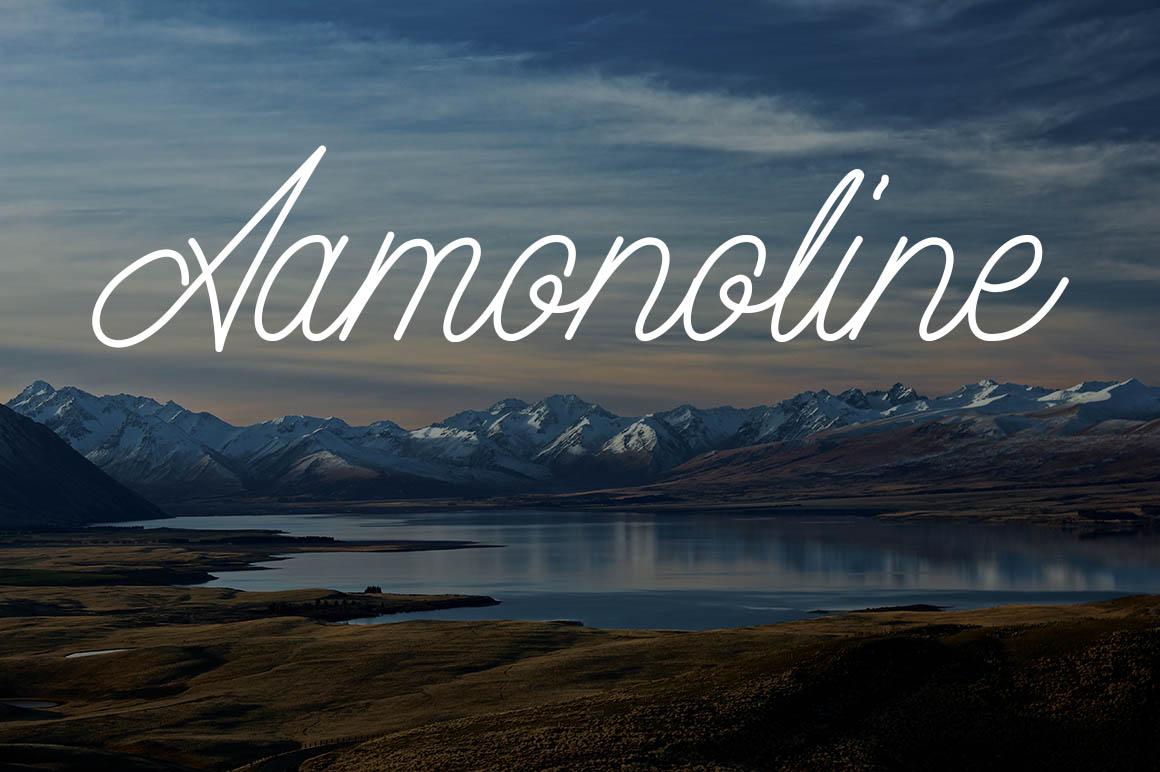 aamonoline-script-font
