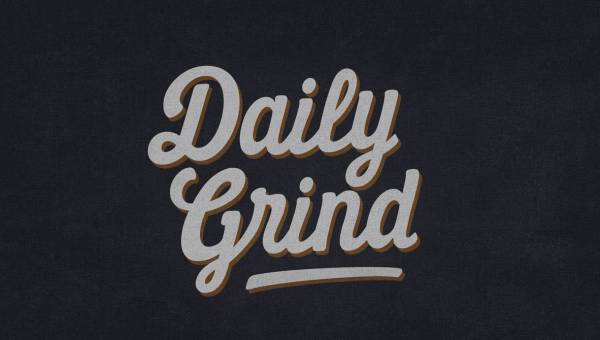 Daily Grind Script Font