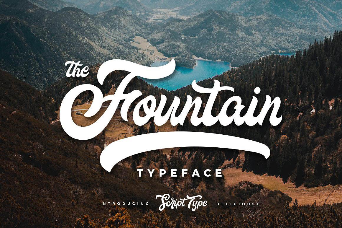 fountain-typeface