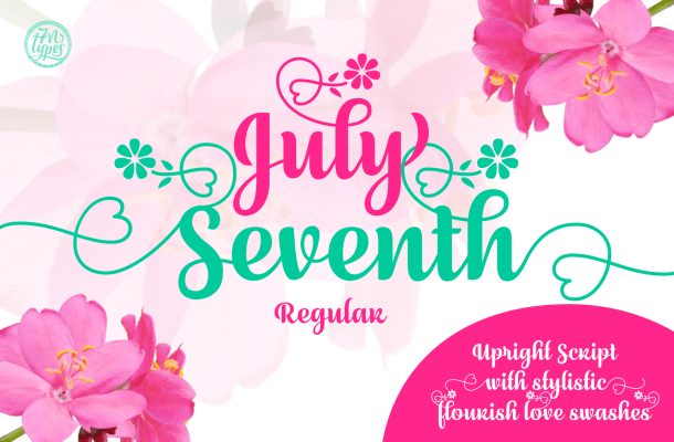 July Seventh Font